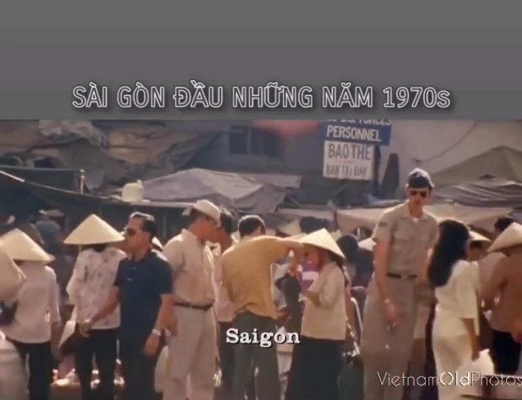 Sài Gòn những năm đầu 1970