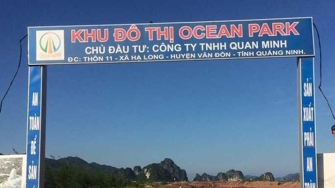 Quảng Ninh: Rà soát, xử lý vi phạm liên quan đến dự án Ocean Park Vân Đồn