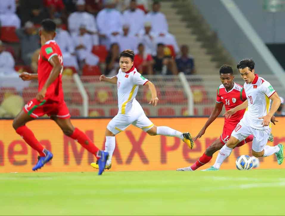 Ghi bàn trước, đội tuyển bóng đá Việt Nam vẫn thua ngược Oman