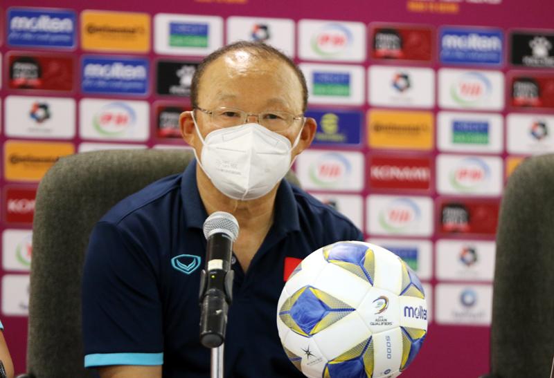 Huấn luyện viên Park Hang-seo: Đội tuyển Việt Nam cần thêm thời gian để cải thiện
