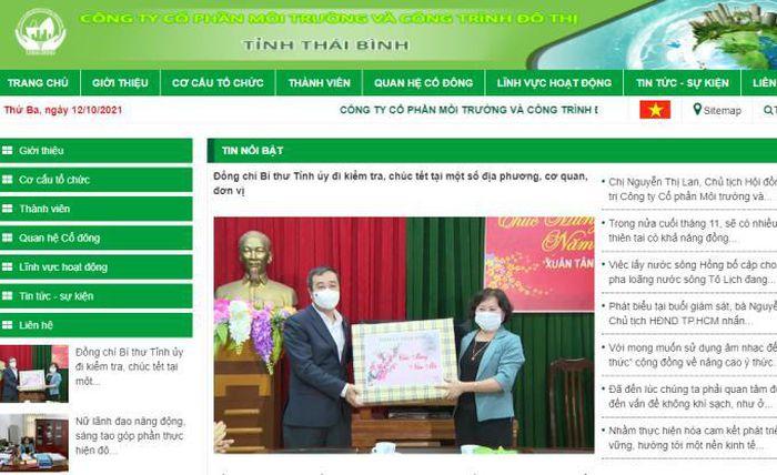 Công ty môi trường đô thị tỉnh Thái Bình bị xử phạt 85 triệu đồng
