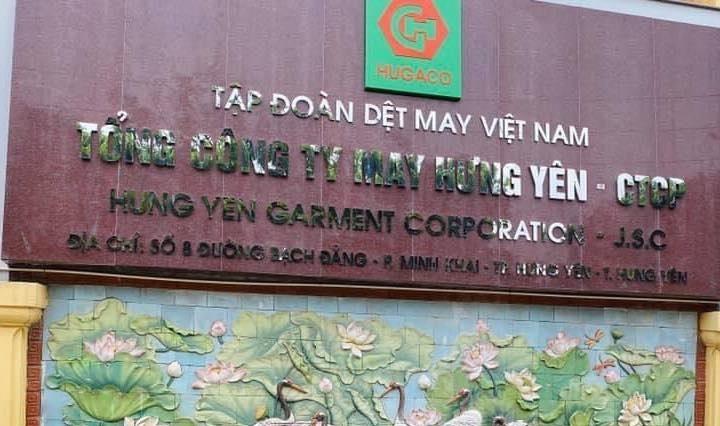 Tổng công ty May Hưng Yên bị phát hiện khai sai thuế
