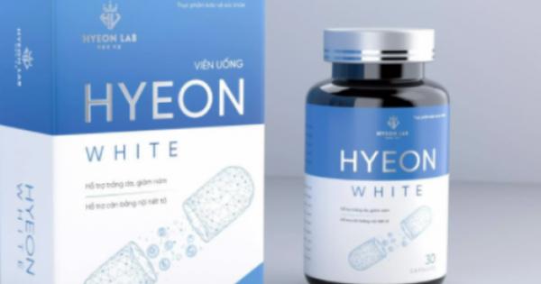 Bộ Y tế: Đang xác minh về quảng cáo Viên uống Hyeon White