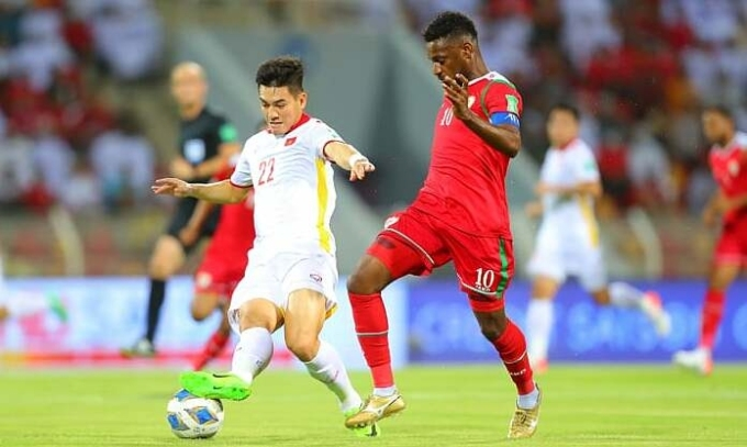 Đội tuyển Việt Nam thua ngược Oman